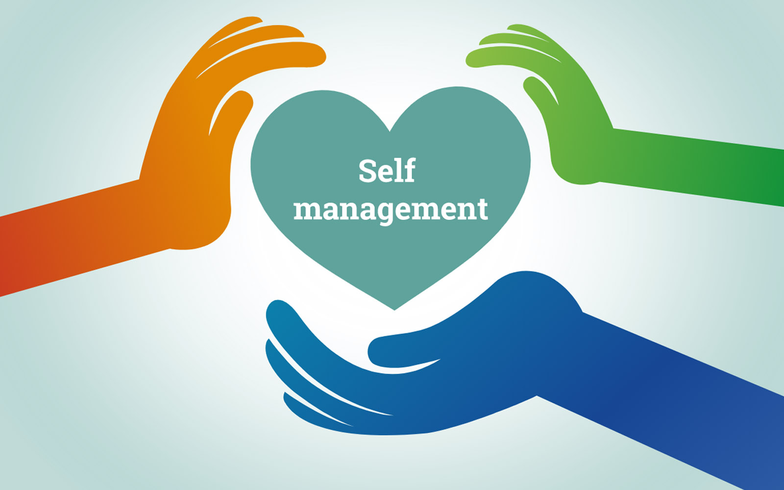 What is meant by self-management?