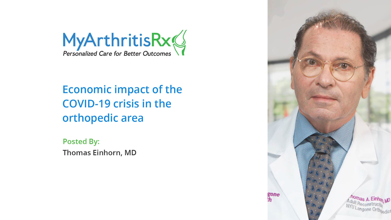 Economic impact of the COVID-19 crisis in the orthopedic area